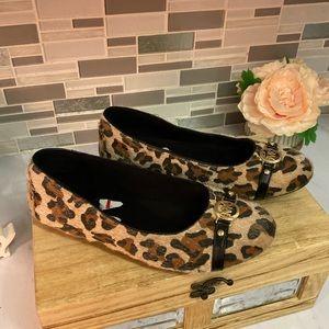 Michael kors animal print shoes